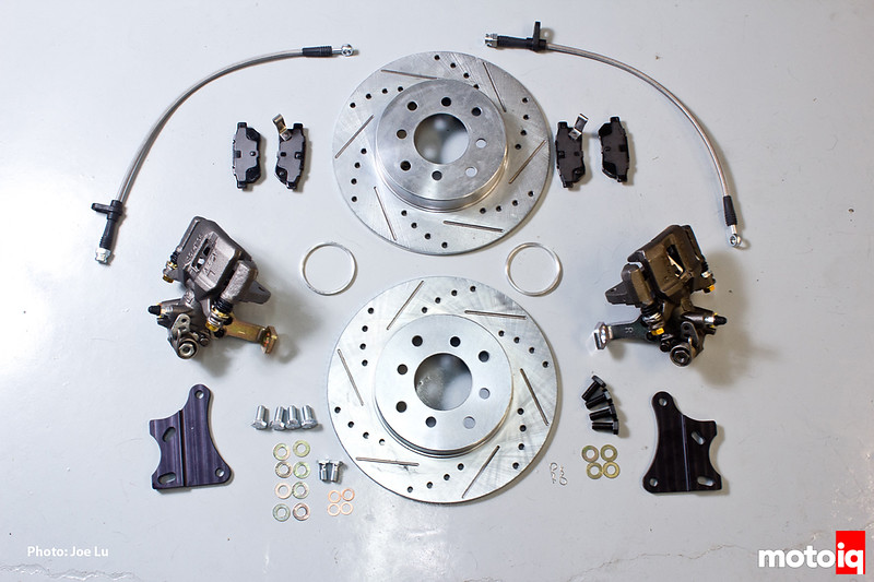 Project Honda Civic EJ: Fast Brakes Rear Disc Brake Conversion Kit