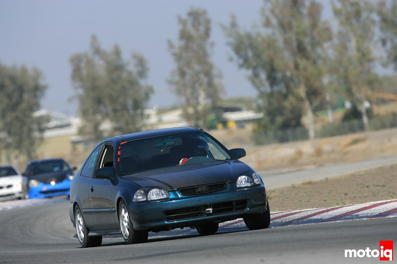 Project Honda Civic EJ at Buttonwillow Raceway