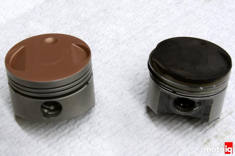 Chanito Motors Honda Ruckus big bore piston vs stock