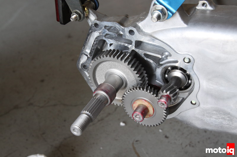 Honda Ruckus kitaco gear install