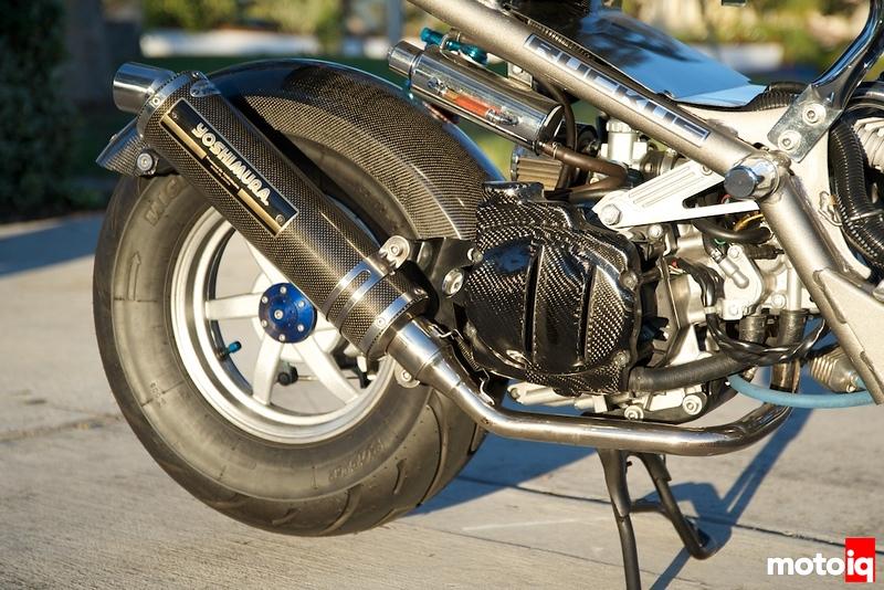 MotoIQ Project Honda Ruckus JDM Yoshimura exhaust