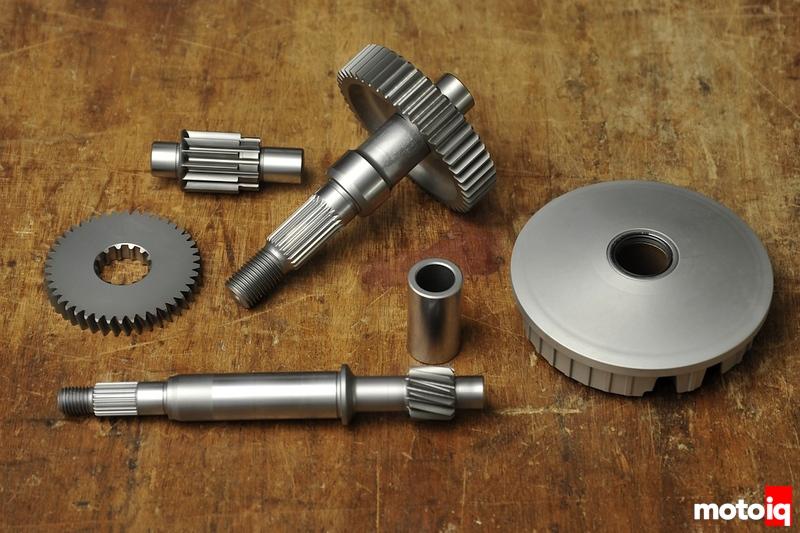 WPC treated honda ruckus metropolitan gears and polini variator