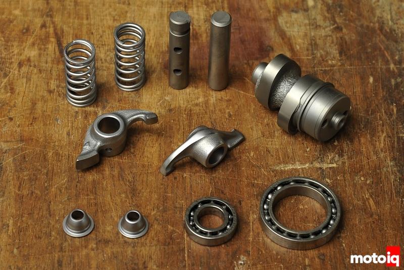 Honda Ruckus valve train parts