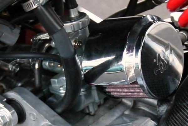 Honda Ruckus big K&N air filter