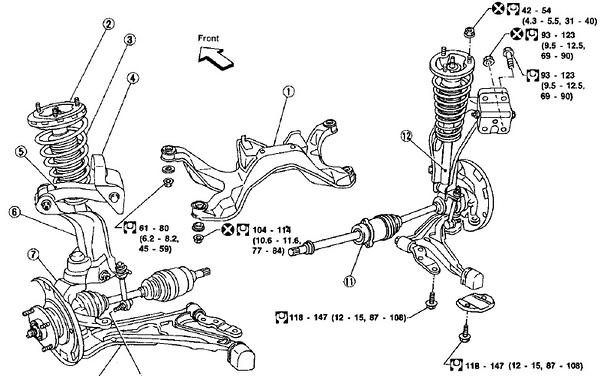 Project Infiniti g20 racecar race car suspension