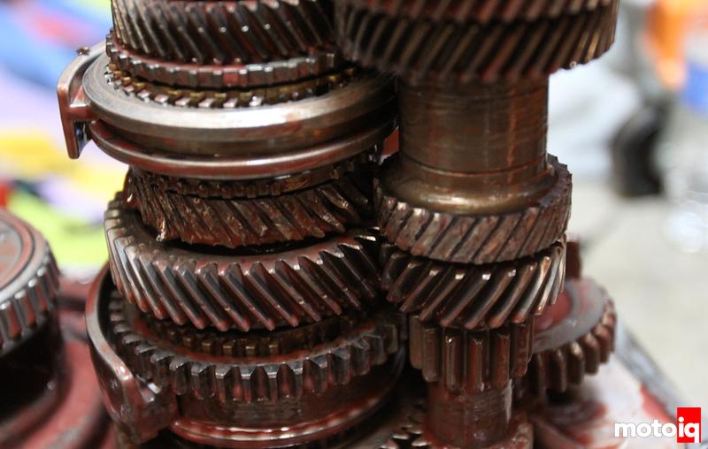 Project Infiniti G20 Transmission upgrades broken gearstack third