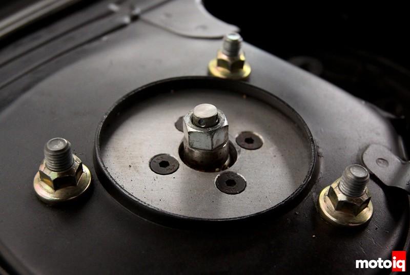 Project Infiniti g20 racecar race car suspension upper mounts