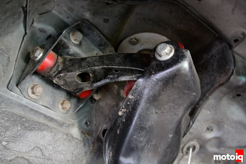 Project Infiniti g20 racecar race car suspension upper arm bushings