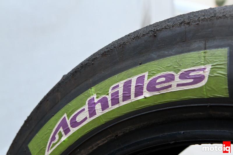 Achilles Tire R1-X review test tire sticker G328