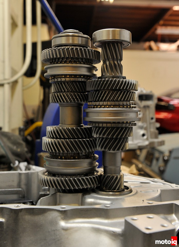 Project Infiniti G20 Transmission upgrades P11 gearstack.