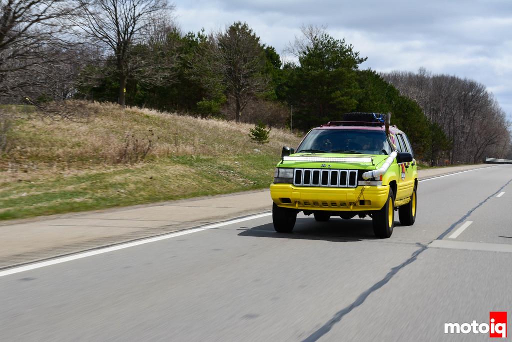 Jurassic Park Jeep Highway