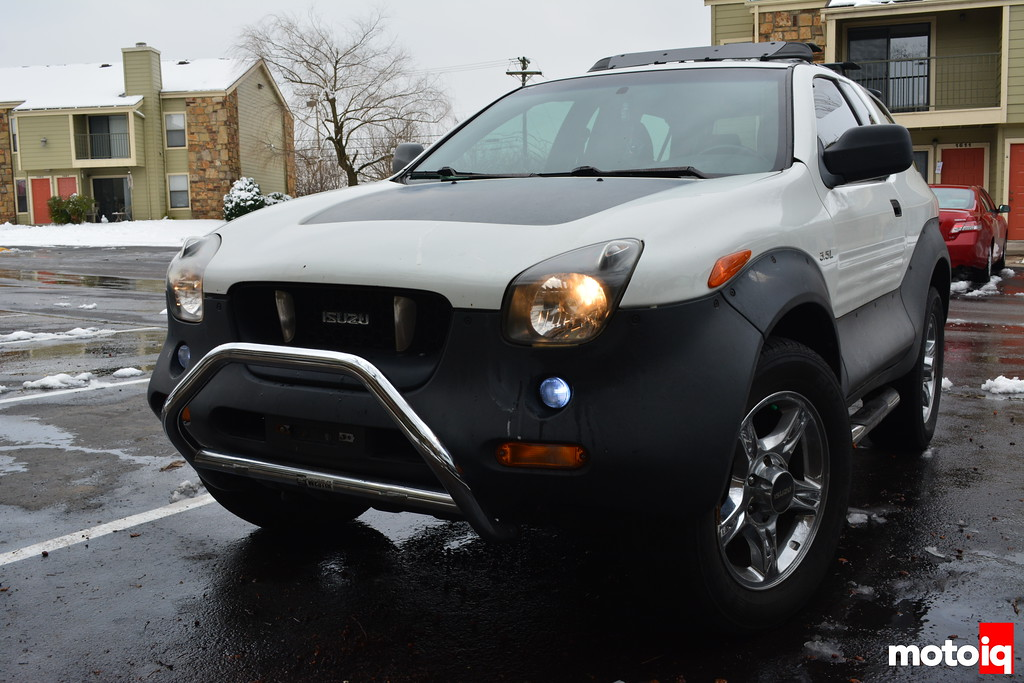 Project Isuzu Vehicross: Part 6 - Getting Sprung With Old