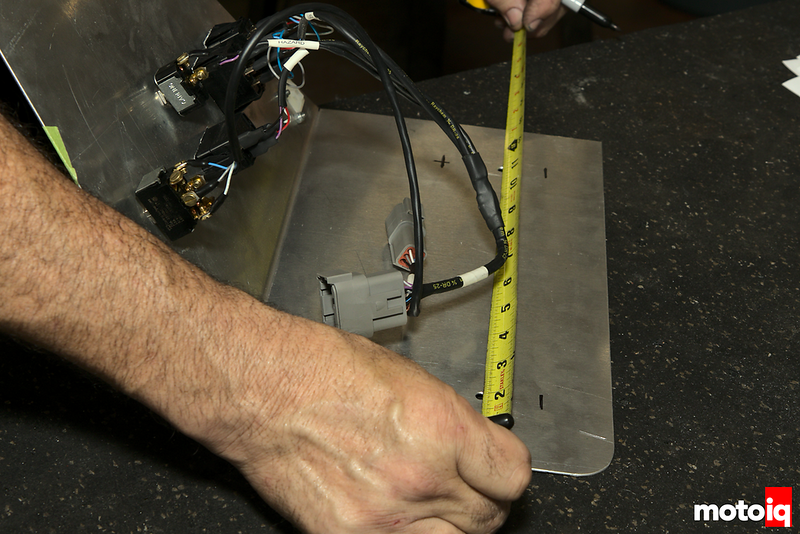 measuring back-side of dashboard before cutting