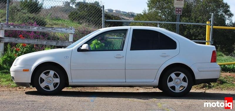 MotoIQ Project Hypermiler VW Jetta Stock Wheels
