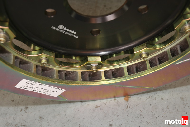 Brembo anti rattle clips for floating rotors