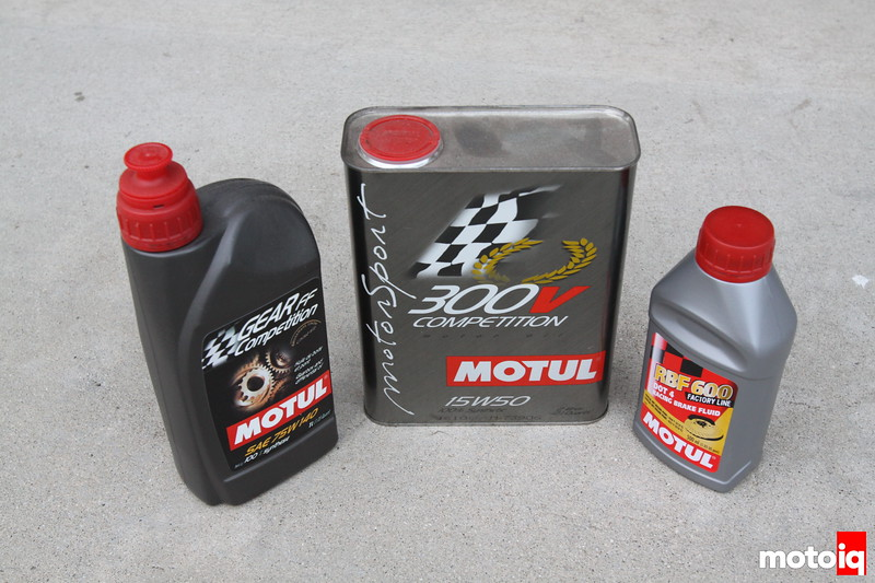 Motul lubricants