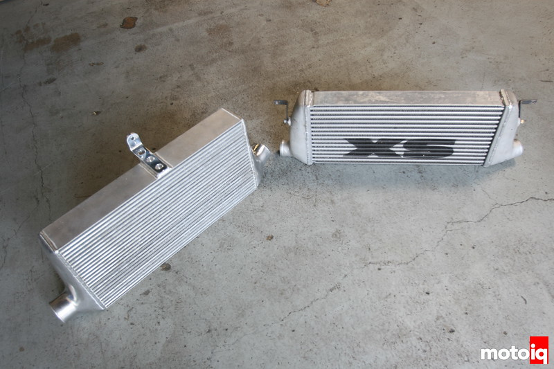 Nisei Bar and plate versus XS Engineering tube and fin intercooler