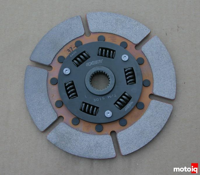 Cusco twin disc clutch disc