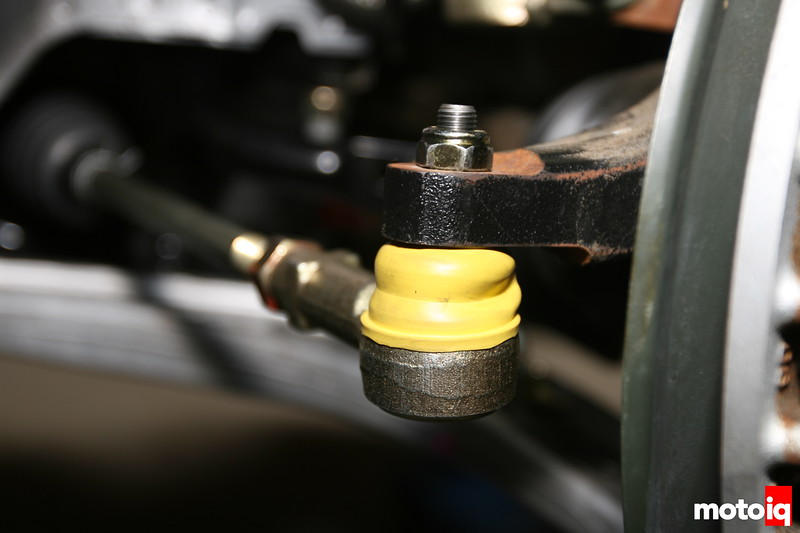 Whiteline roll center correction kit ball joint in place