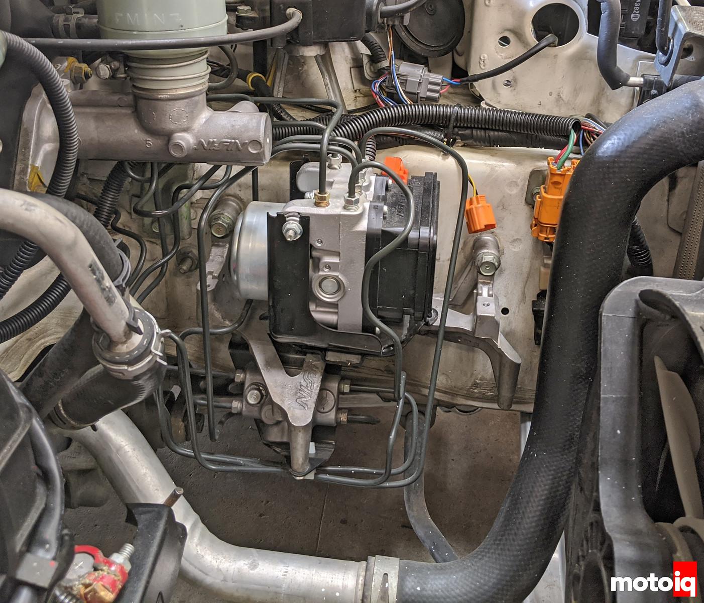 NSX 2000 ABS module upgrade