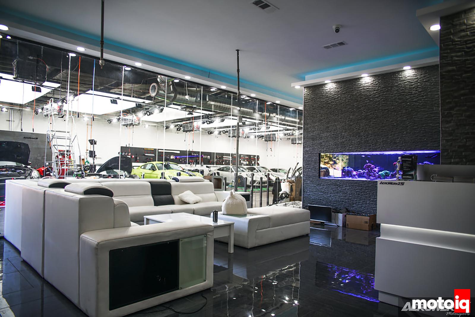 AeroWerkZ Lobby