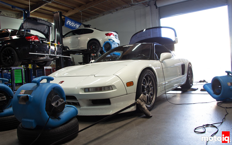 NSX on the dyno