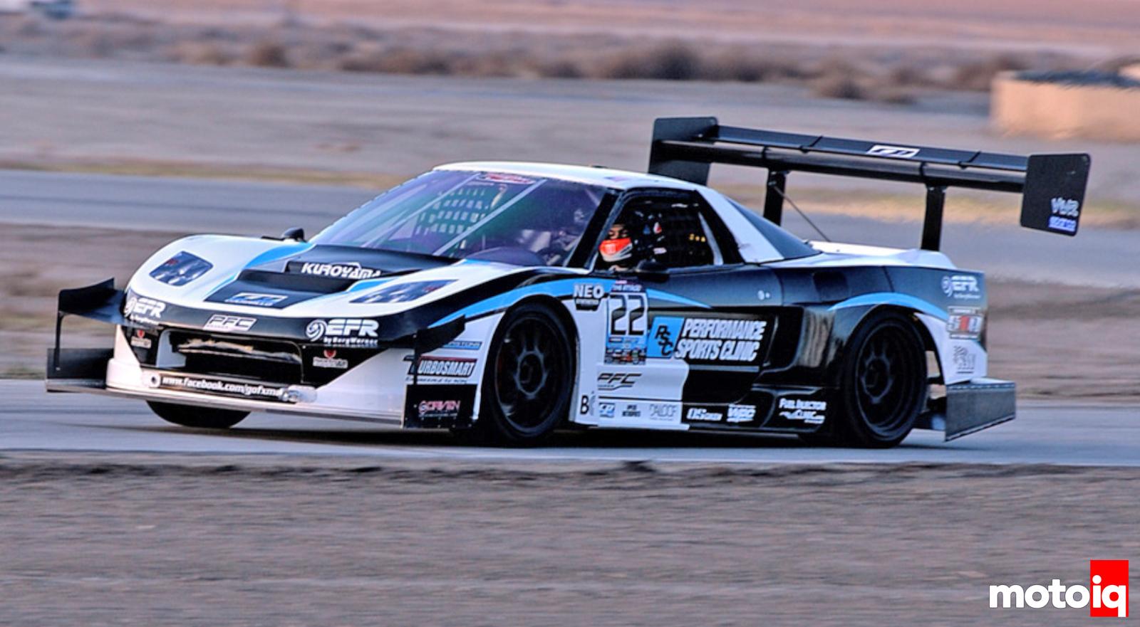 FX Motorsports Development NSX Billy Johnson PFC Brakes