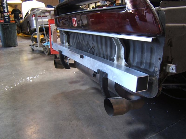 Project NSX STMPO Rear beam