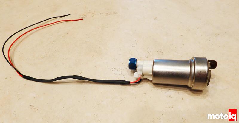 Pump wired