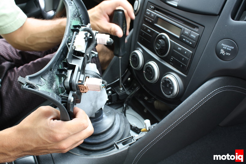 Project Nissan 370Z - Installing B&M's Short Throw Shifter