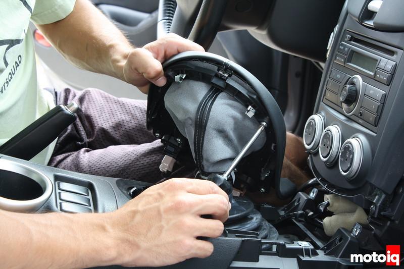 370Z Shifter install