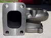 SE-R Turbo HKS GT3037 turbine housing before Extrude Hone process