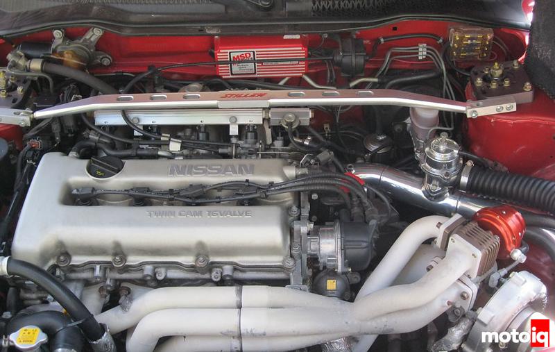 Turbo Sentra Engine