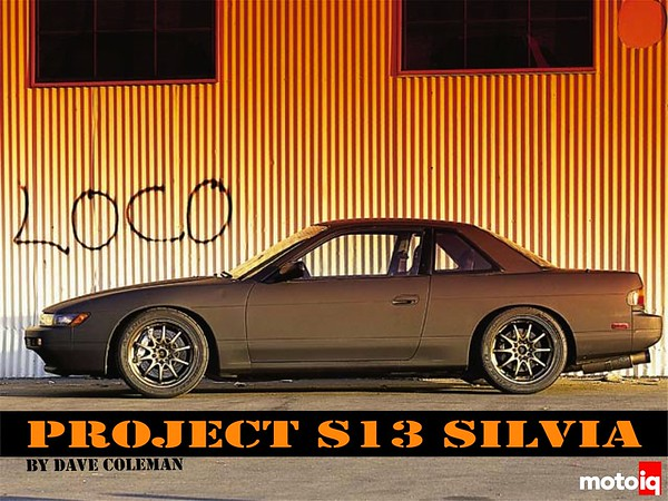 Project Silvia S14 block S13 head long-rod SR20DET