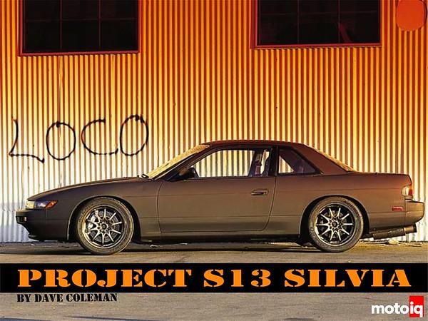 Project Silvia S14 block S13 head long-rod SR20DET