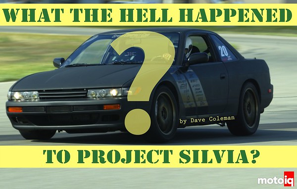 What the hell happened to project silvia?