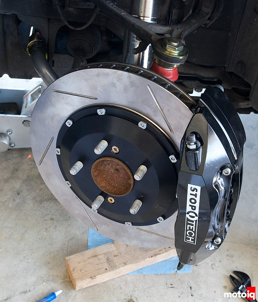 Project Honda S2000 StopTech Brakes