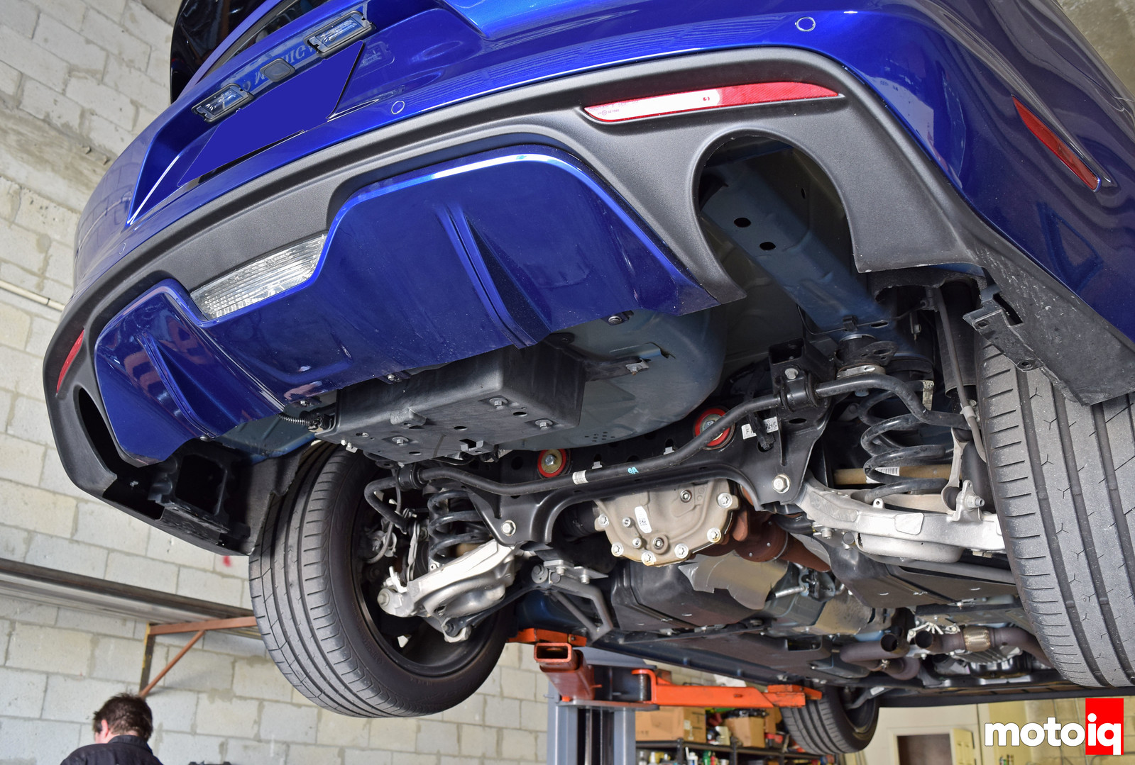 2015 mustang gt rear exhaust removed