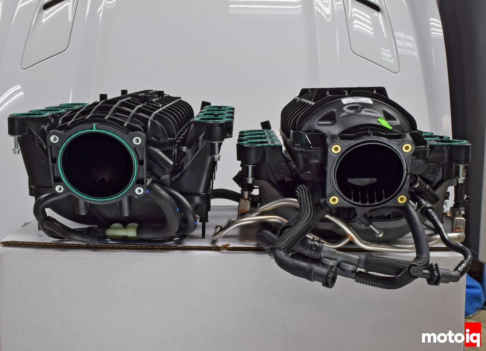 GT vs GT350 IM frontal upsidown