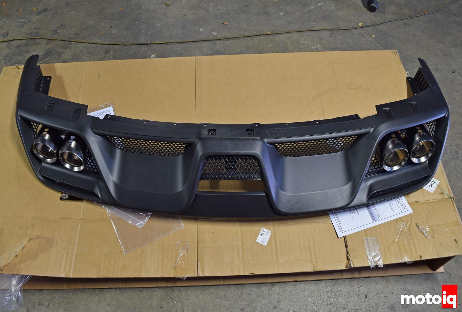 Shelby GT350 lower valence