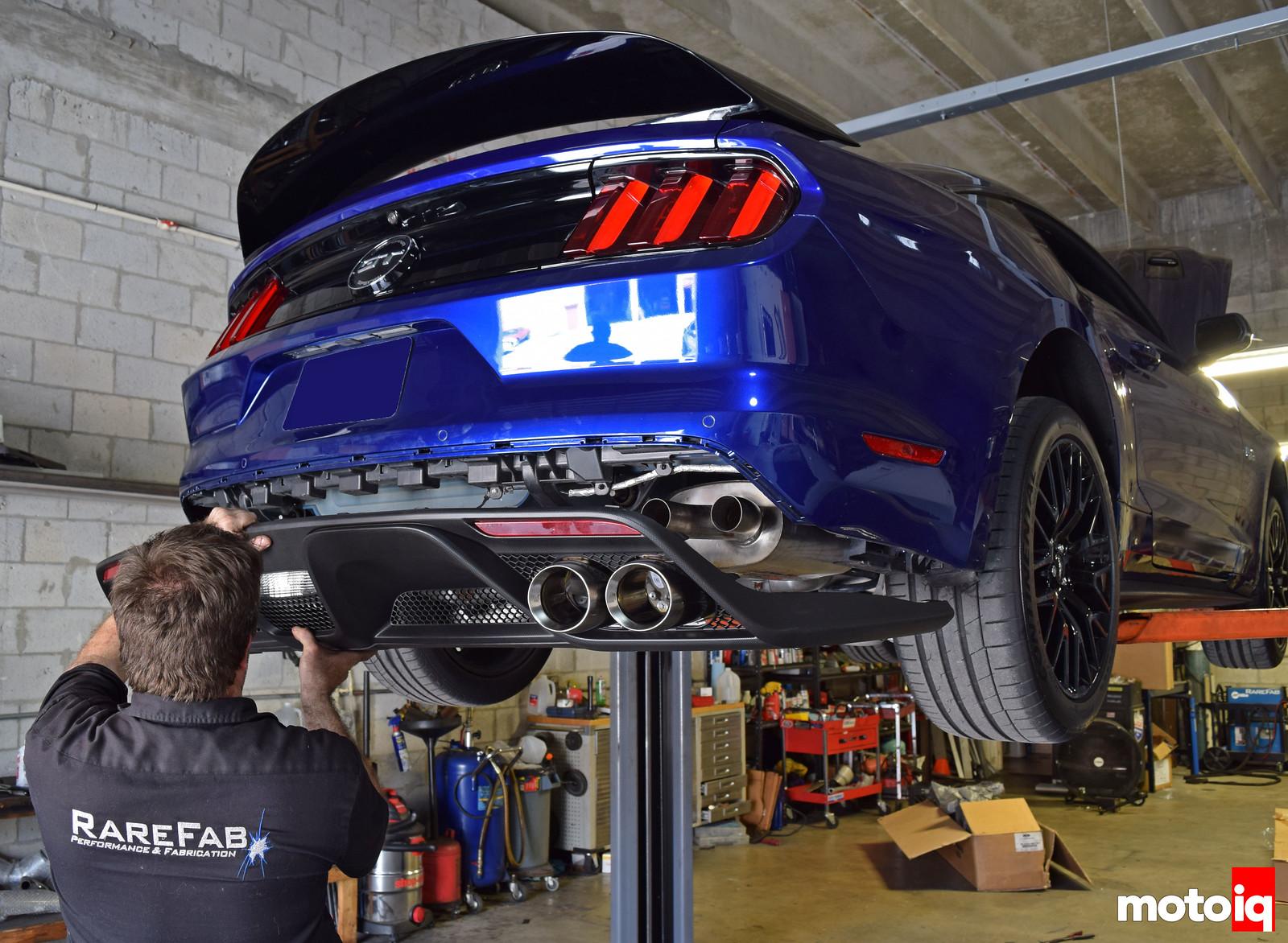 Installing Shelby GT350 lower valence