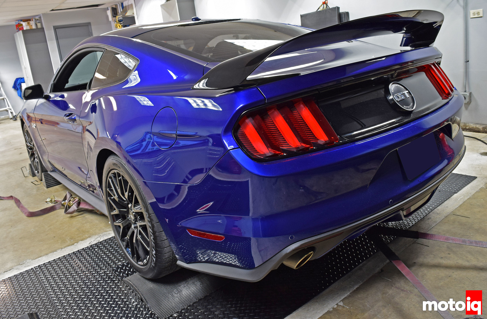Palm Beach Dyno S550 Mustang GT Baseline