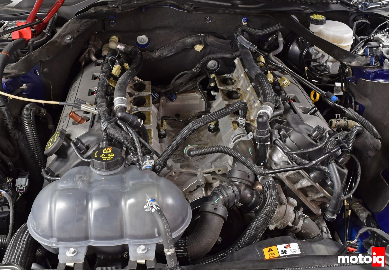 Mustang GT no intake manifold