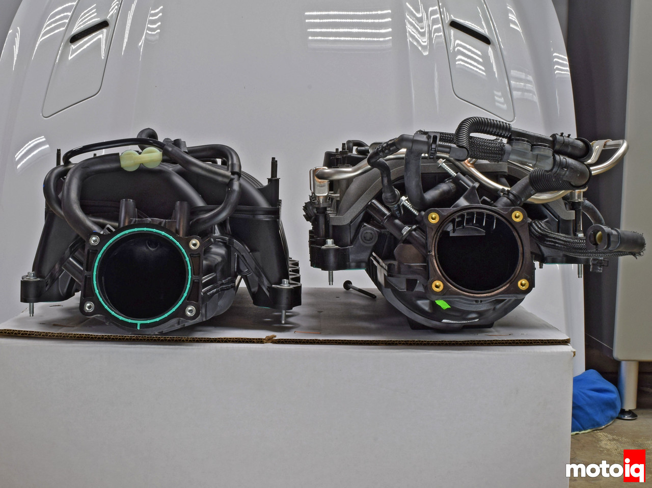 GT vs GT350 IM frontal