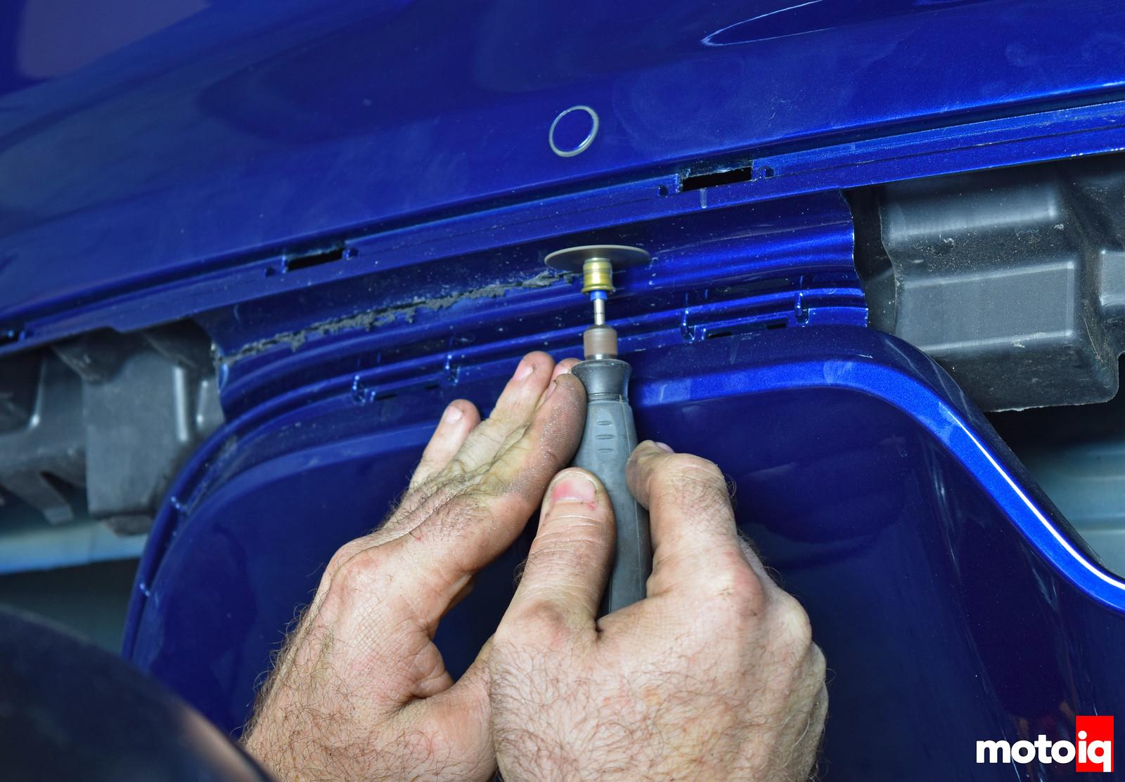 2015 Mustang gt cut off rear diffuser