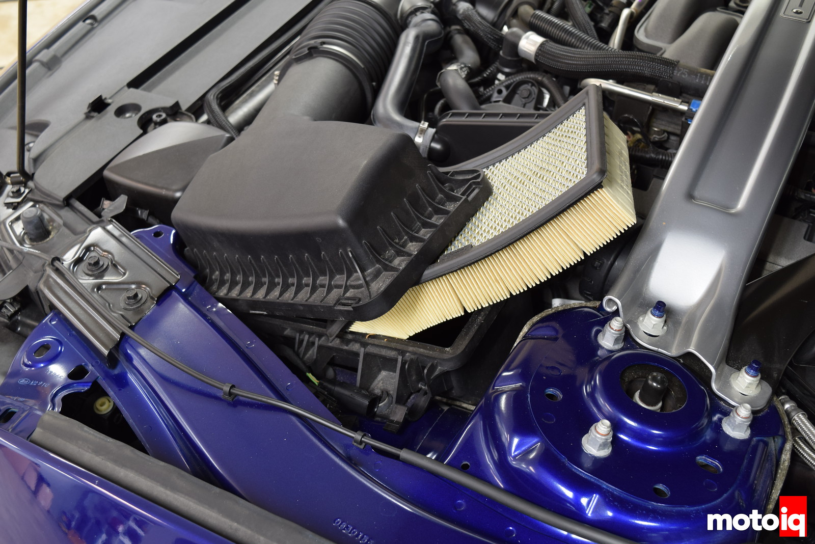 Mustang GT Air Filter Removal
