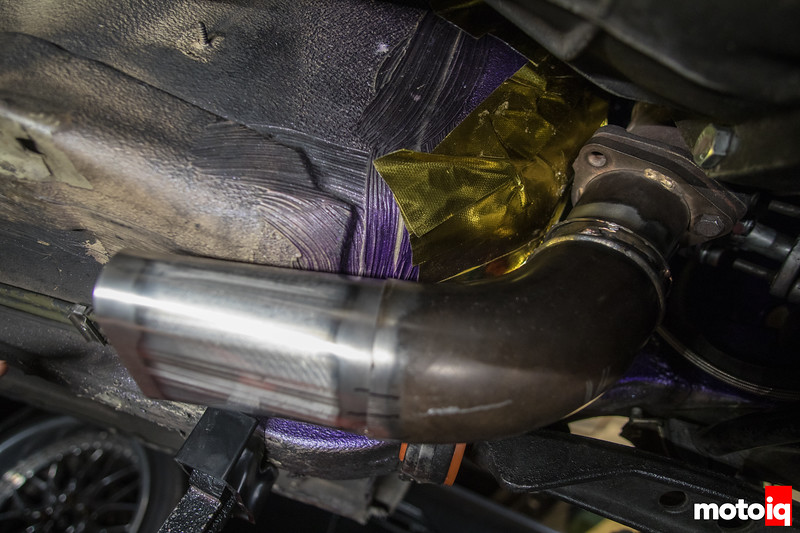 SR20DET BMW E30 Downpipe