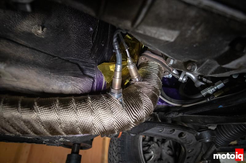 BMW E30 SR20DET O2 sensors.