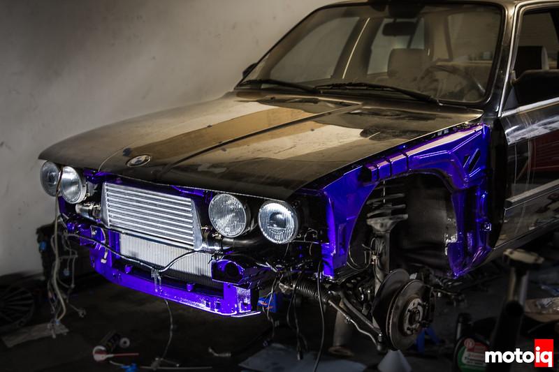 SR20 swapped BMW E30