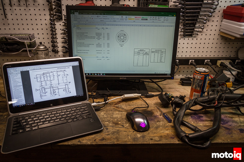 Reverse engineering a BMW engine harness
